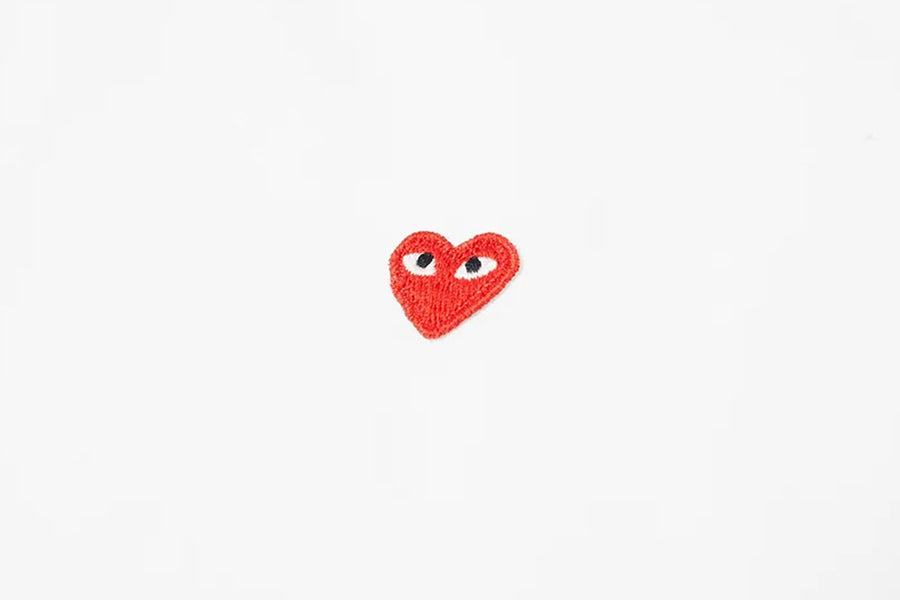 COMME des GARÇONS PLAY Men's Little Red Heart Shirt - August Shop