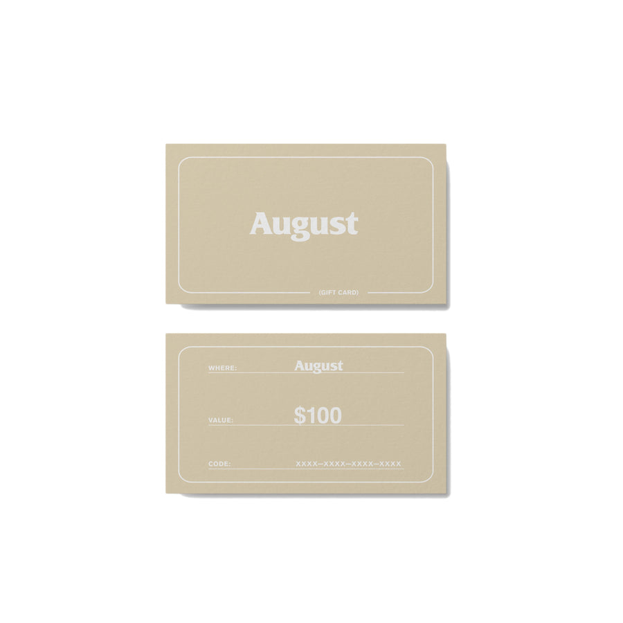 Gift Card - August Shop