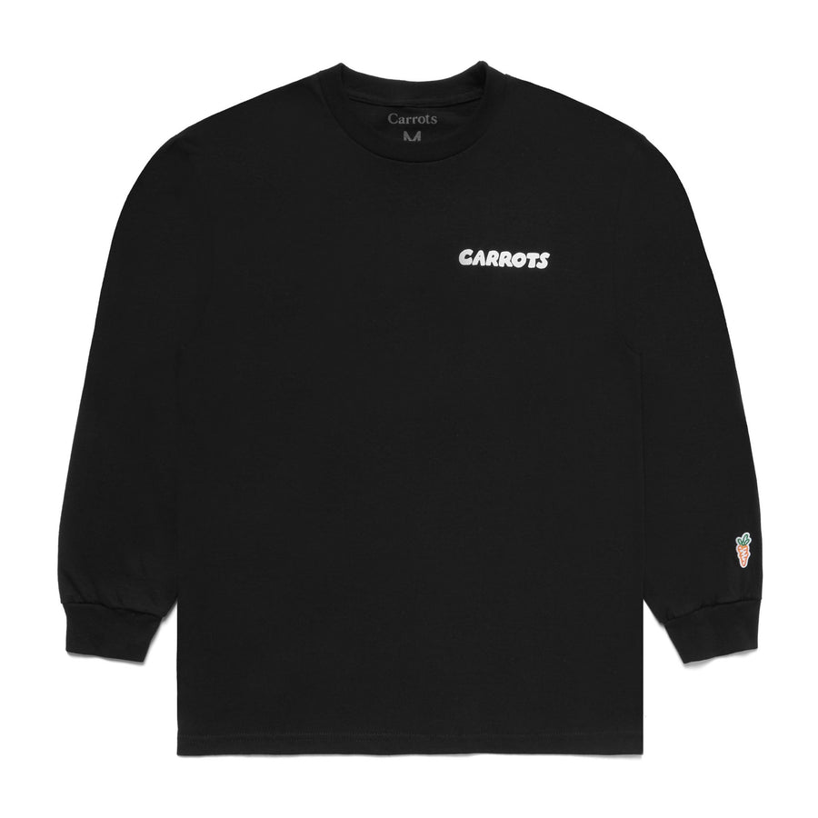 Carrots Ring Around Carrot L/S T-Shirt (Black) - August Shop