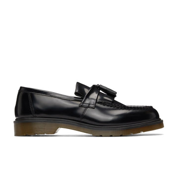 Dr. Martens Adrian Smooth Leather Tassel Loafers (Black Polished Smooth) - August Shop