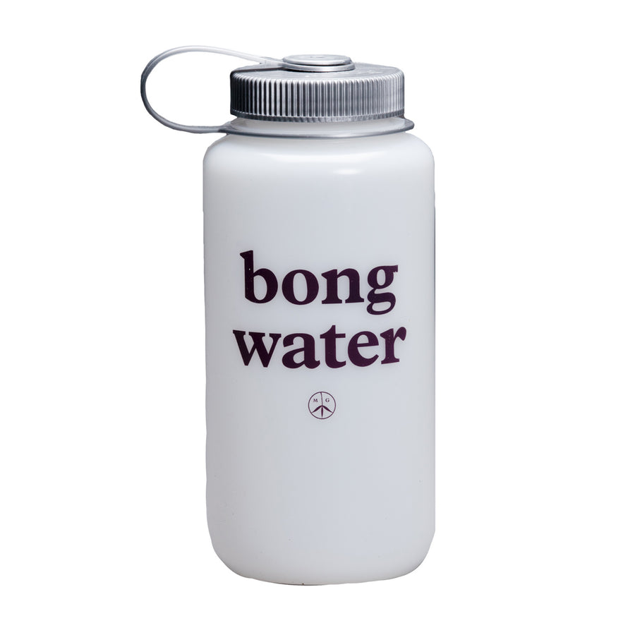 Mister Green Bong Water Nalgene Wide Mouth (White/Platinum) - August Shop