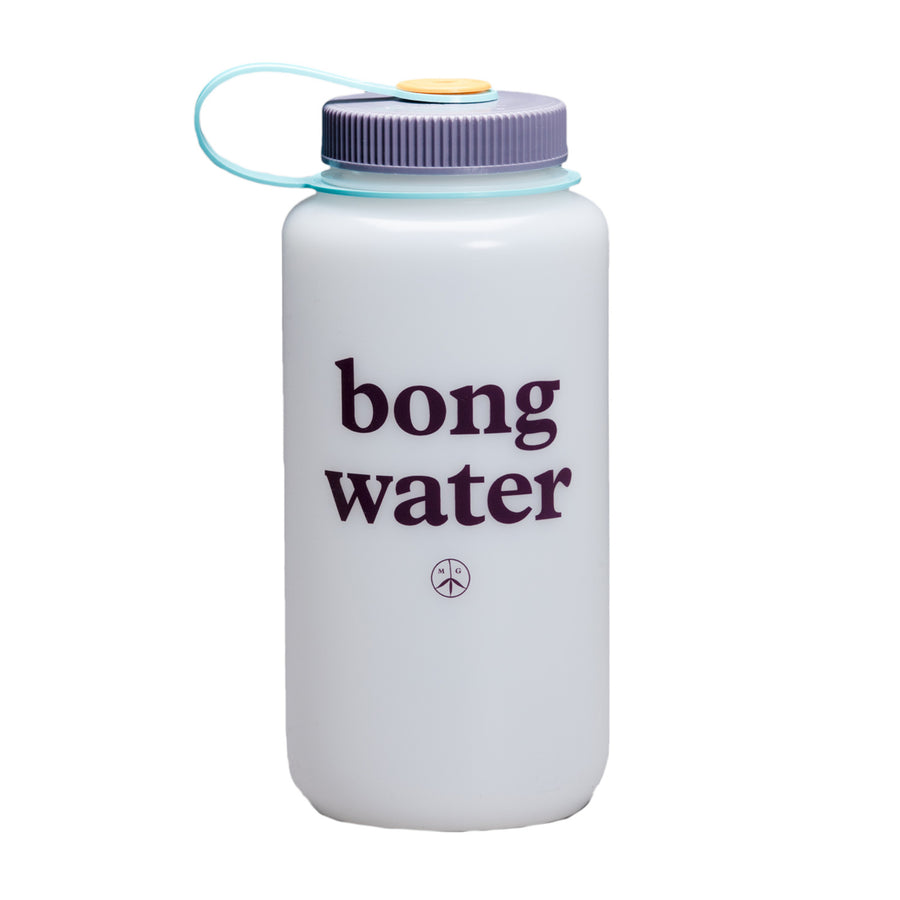 Mister Green Bong Water Nalgene Wide Mouth (White/Sun Sea) - August Shop