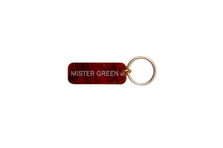 Mister Green Keytag (Tortoise) - August Shop
