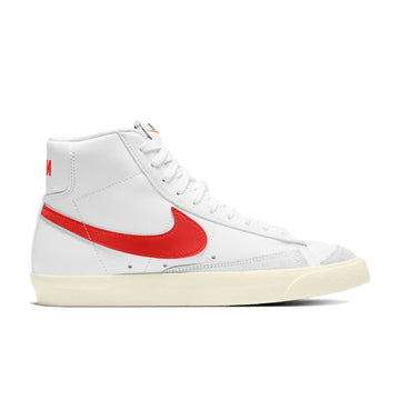 Nike Women's Blazer Mid '77 Vintage (White/Habanero Red-Sail) - August Shop
