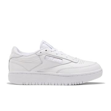 Reebok Women's Club C Double (White/White/Cold Grey 2) - August Shop