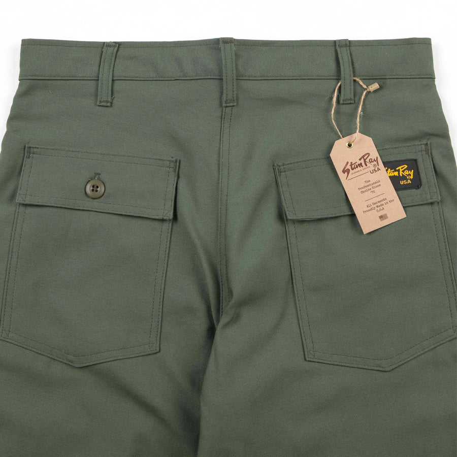 Stan Ray Original Fatigue Pant (Olive Sateen) - August Shop
