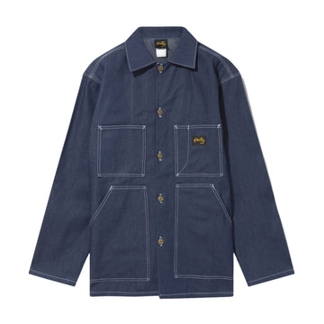 Stan Ray Shop Jacket (Medium Blue Denim) - August Shop