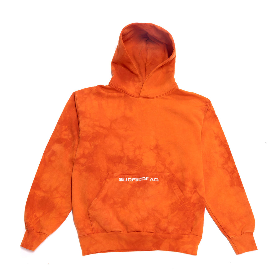 Surf Is Dead SID Logo Hoodie (Rust Dye) - August Shop
