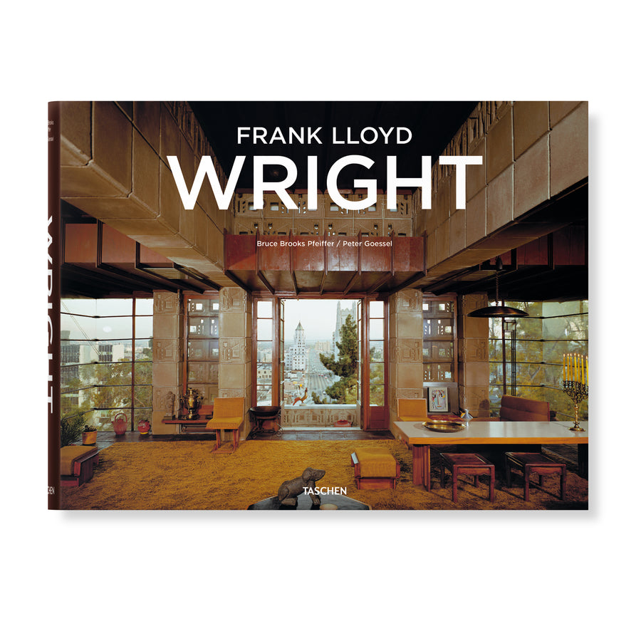 Taschen Frank Lloyd Wright (Hardcover) - August Shop
