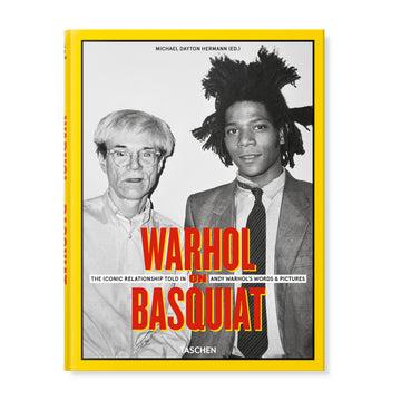 Taschen Warhol On Basquiat (Hardcover) - August Shop