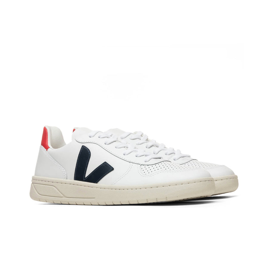 Veja V-10 (Extra White/Nautico/Pekin) - August Shop