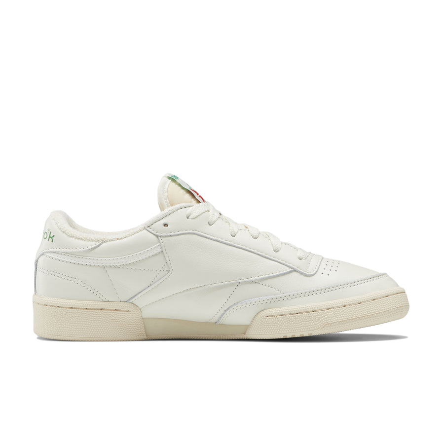 Reebok Women's Club C 85 Vintage (Chalk/Glen Green/Paperwhite) - August Shop