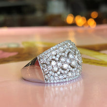 14K White Gold 1.30 CTW Diamond Band - The Jewelers Lebanon