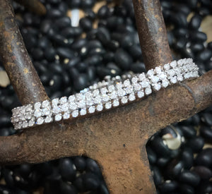 14K White Gold 4 CTW Diamond Bracelet - The Jewelers Lebanon