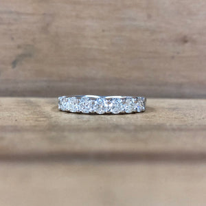 14k White Gold Band - The Jewelers Lebanon