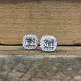 14K White Gold .31 CTW Roman & Jules Diamond Jacket Earrings - The Jewelers Lebanon