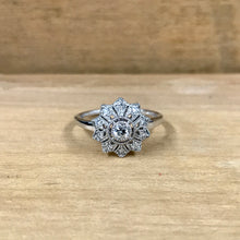 14K White Gold .32 Carat Diamond Ring - The Jewelers Lebanon