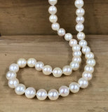 "14K Yellow Gold 6-6.5 MM 18"" AA Grade Pearl Necklace - The Jewelers Lebanon"