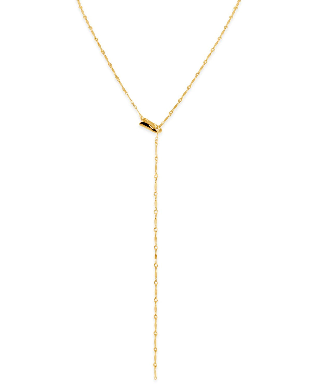 Gold Chain Lariat