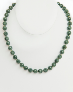 Jade Knotted Necklace