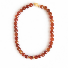 Load image into Gallery viewer, Amber and Gold Necklace