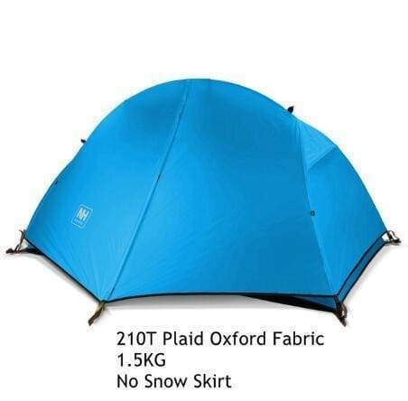 1.3KG 20D Ultralight 1P Double Layer Hiking Tent - Outdoor Sports Store - Eaglesong Outdoor Retailer
