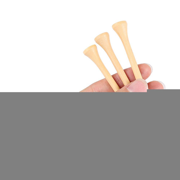 Dominant 100pcs 83MM Bamboo Wooden Golf Tees - Outdoor Sports Store - Eaglesong Outdoor Retailer