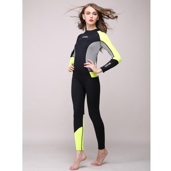 Full Body Wetsuit - 3mm Neoprene One-piece for Women - Outdoor Sports Store - Eaglesong Outdoor Retailer