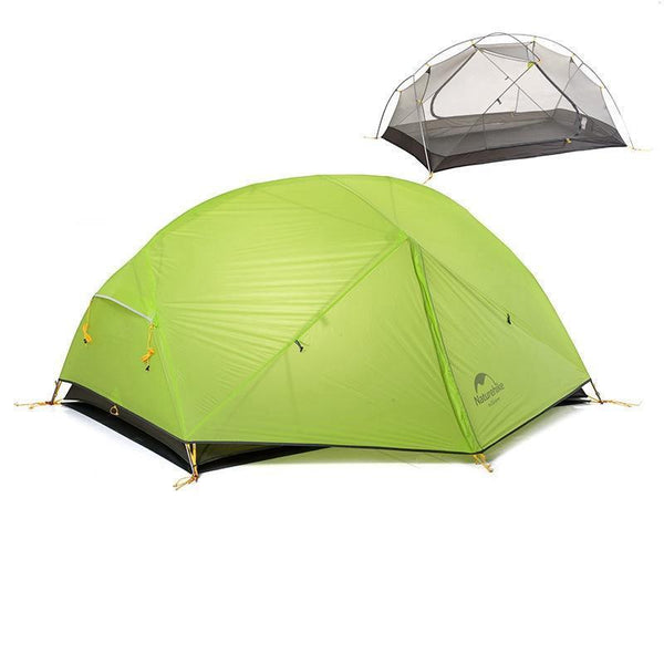 Dome 2 Person Tent 20D Rainproof - Ultralight Camping Tent in 3 Colors - Outdoor Sports Store - Eaglesong Outdoor Retailer