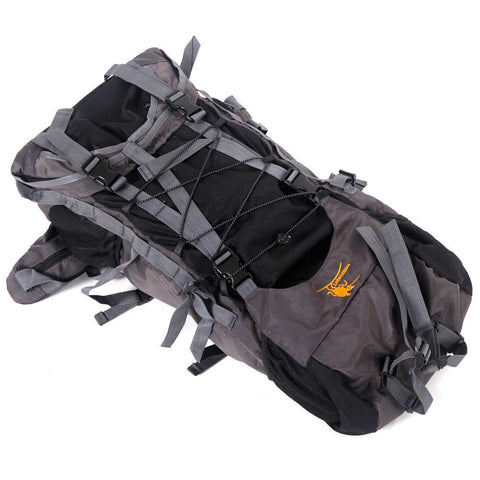 60L Waterproof Mountaineering Backpack - Black - Outdoor Sports Store - Eaglesong Outdoor Retailer