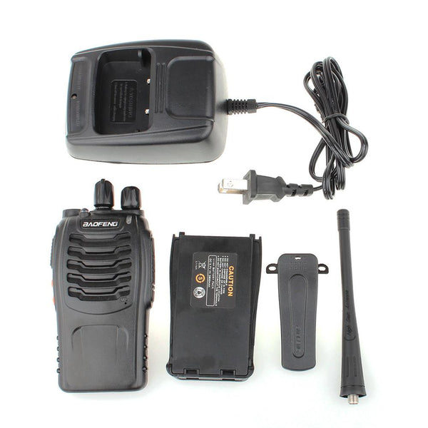 ABS Baofeng Pofung BF-888s UHF 400-470MHz Two-way Ham Radio Black - Outdoor Sports Store - Eaglesong Outdoor Retailer