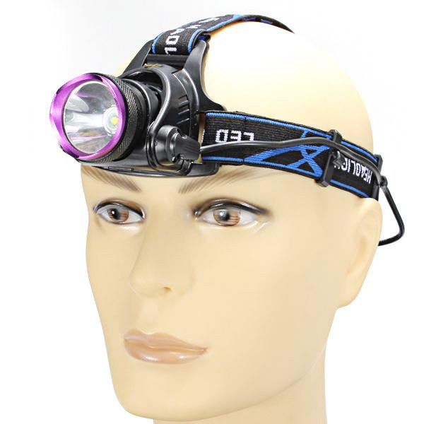 2000LM T6 LED Rechargeable Headlight Head Lamp - Outdoor Sports Store - Eaglesong Outdoor Retailer