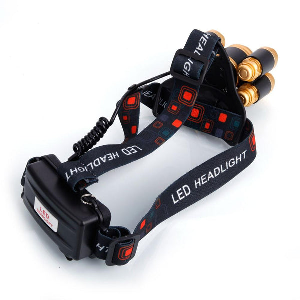 80000LM Rechargeable 5xT6 LED Headlight - Outdoor Sports Store - Eaglesong Outdoor Retailer