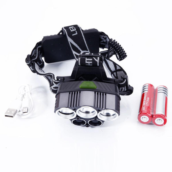 80000LM 5T6 White LED 6-Mode Headlamp - Outdoor Sports Store - Eaglesong Outdoor Retailer
