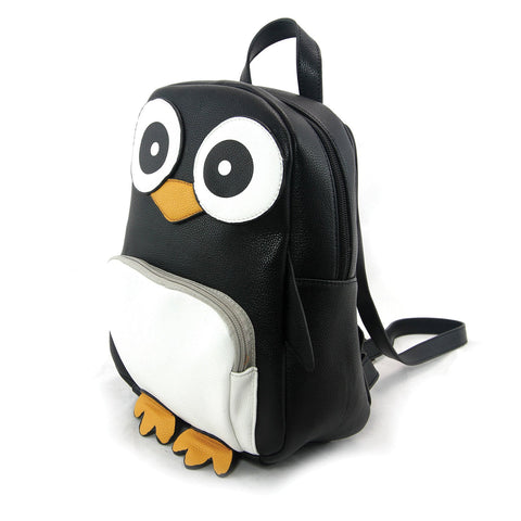 Sleepyville Critters - Mini Penguin Backpack in Vinyl Material - Outdoor Sports Store - Eaglesong Outdoor Retailer