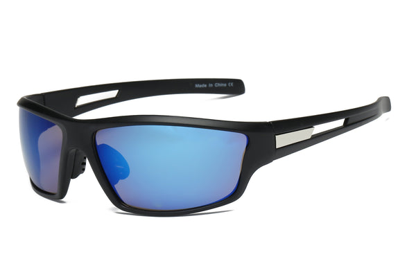 Mens Sports Rectangular HD Mirrored Sunglasses - Outdoor Sports Store - Eaglesong Outdoor Retailer