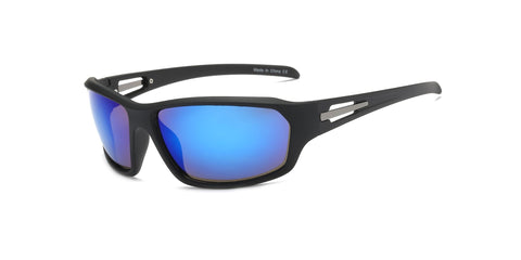 Mens Shield Sports Mirrored Sunglasses - Outdoor Sports Store - Eaglesong Outdoor Retailer
