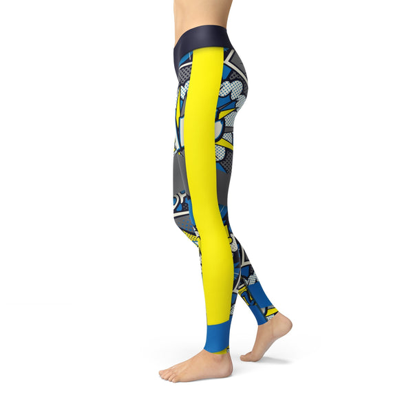 Stella Comic Strip Legging - Outdoor Sports Store - Eaglesong Outdoor Retailer