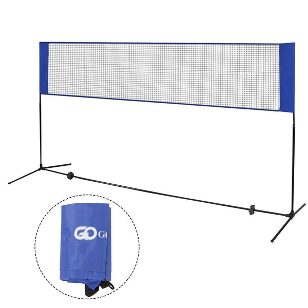 Portable 10' x 5' Beach Badminton Training Net w/ Carrying Bag - Outdoor Sports Store - Eaglesong Outdoor Retailer
