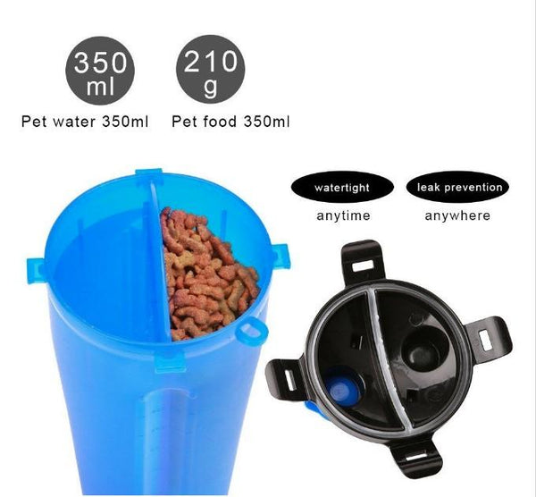 2 in 1 Dog Drinking Water Bottle with Bowl - Outdoor Sports Store - Eaglesong Outdoor Retailer