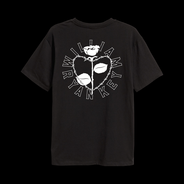 BARBED WIRE HEART TEE