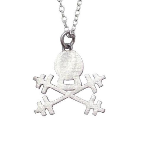 Kettlebell Skull Necklace