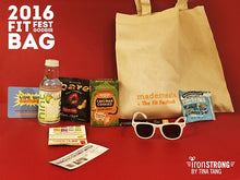 Fit Festival 2016 Goodie Bag