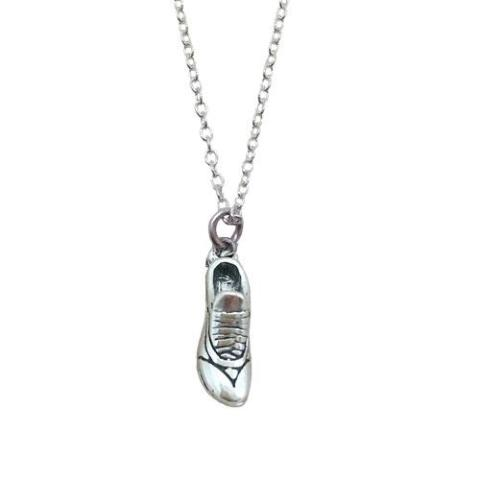 Track Running Shoe Necklace