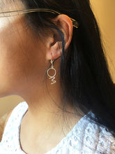 Om Earrings on Mode