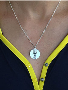 Atlas Strong Woman Necklace
