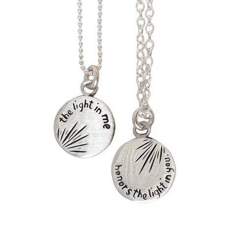 Sterling Silver Light in Me Necklace