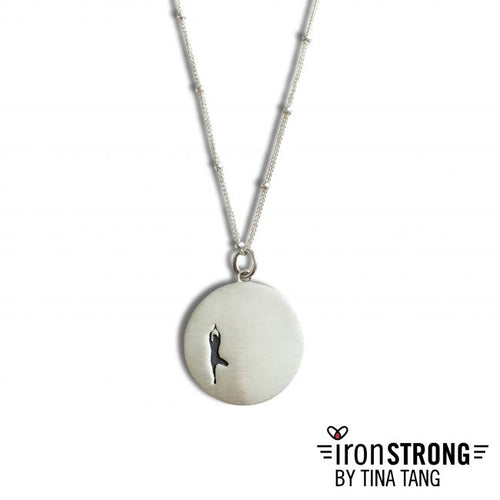 Tree Pose Yoga Necklace