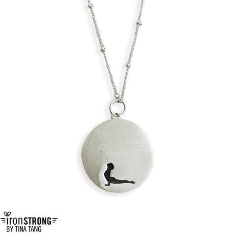 Up Dog Yoga Necklace