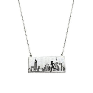 New York City Marathon Necklace